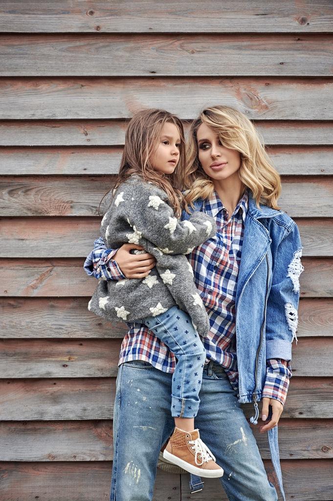 Светлана Лобода с дочкой