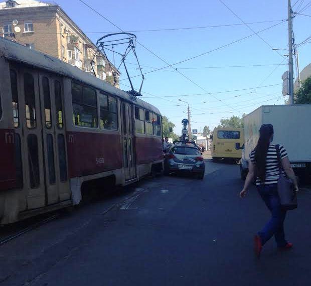 Гугл мобиль google авария трамвай
