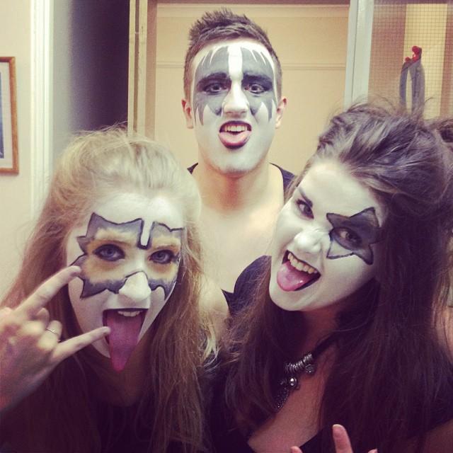 макияж костюм на Хэллоуин 2014