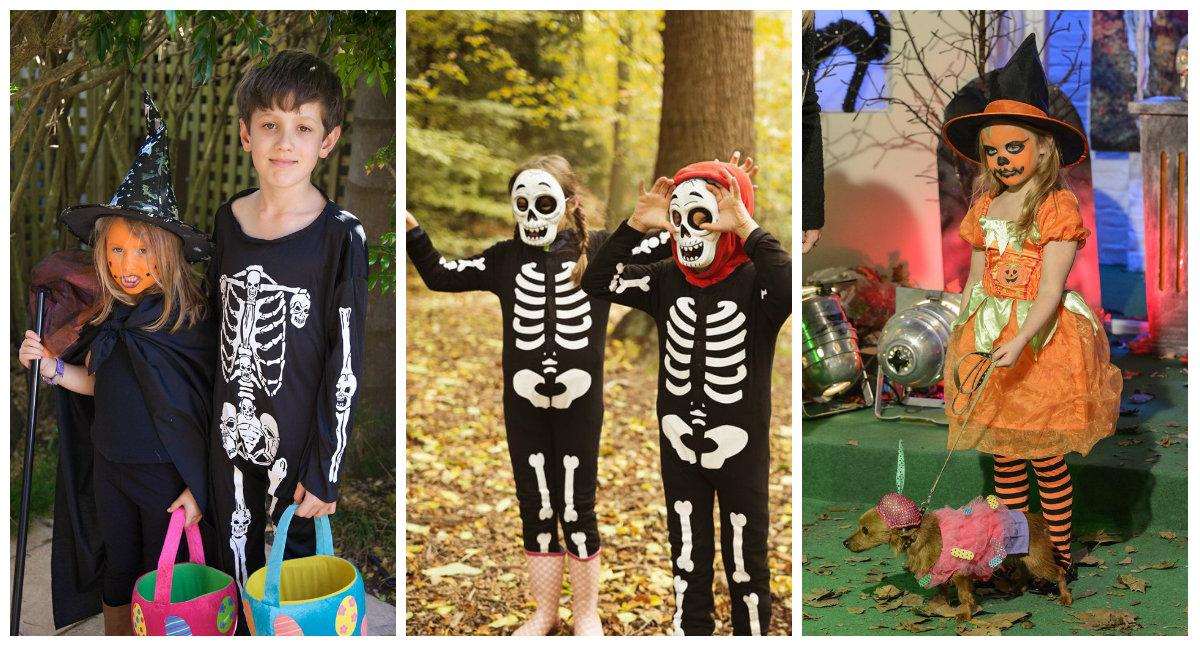 Простые костюмы своими руками на хэллоуин