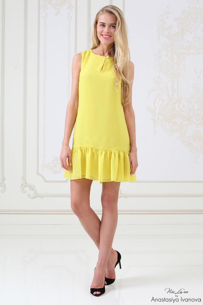 мода желтый цвет одежда
