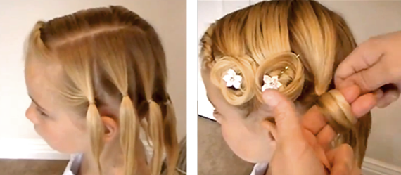 Прически на 1 сентября для девочек: на длинные, средние и короткие волосы (видео, фото)
