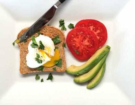 Дженнифер Энистон завтрак