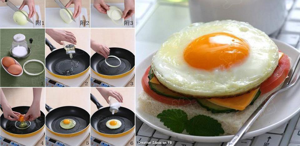 Как сделать оригинальную яичницу