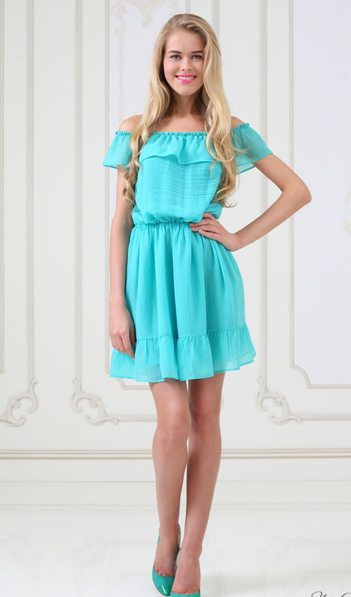 мода лето 2014 цвет