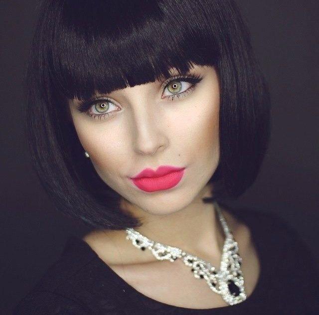 как макияж и прическа меняют