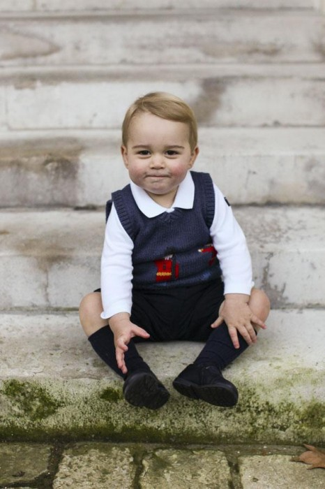 Сын Уильяма и Кейт МИддлтон принц Джордж фото