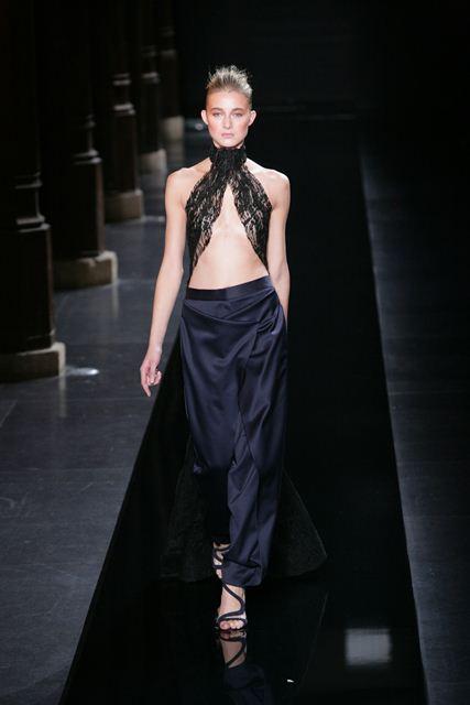 Неделя высокой моды Париж 2015 Loris Azzaro