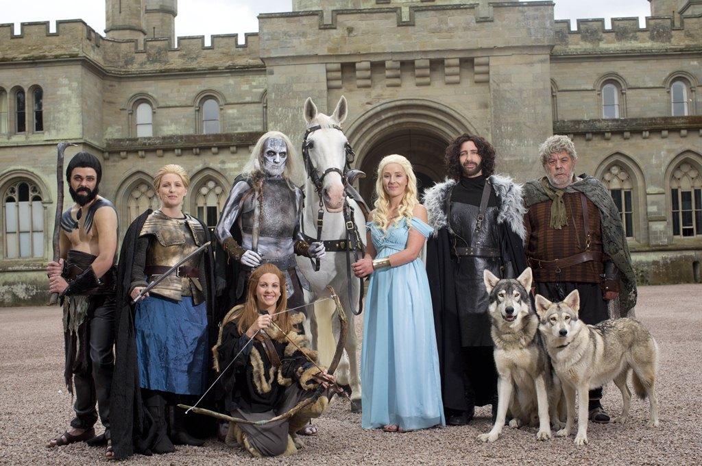 Свадьба в стиле сериала Игры престолов фото