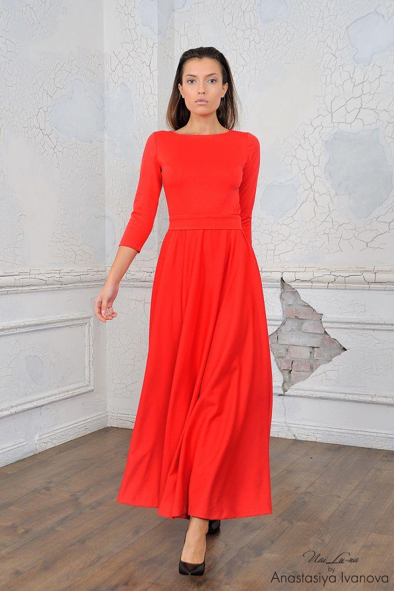 Изменить цвет платья на фото
