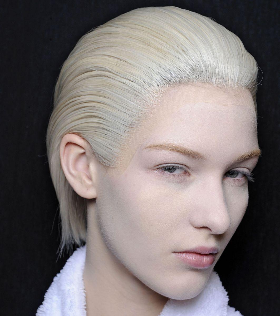 модный цвет волос платиновый