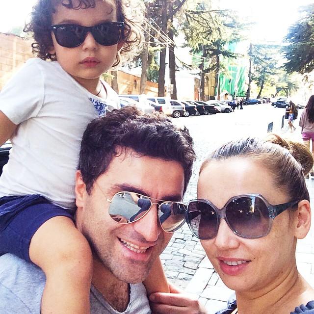 Анфиса Чехова Гурам Баблишвили семья фото