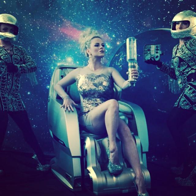 Анна Семенович в космосе фото