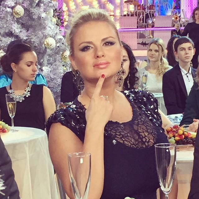 Анна Семенович Новый год 2015 фото