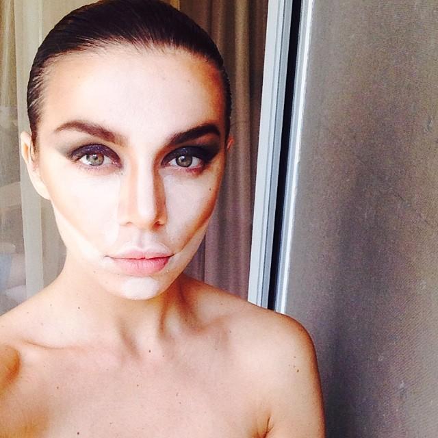 Анна Седокова фото макияж