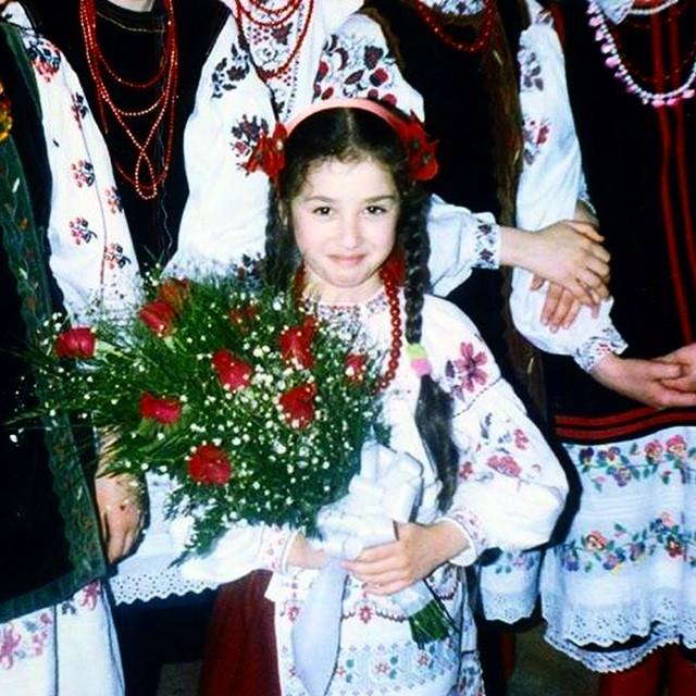 Анна Завальская фото детское