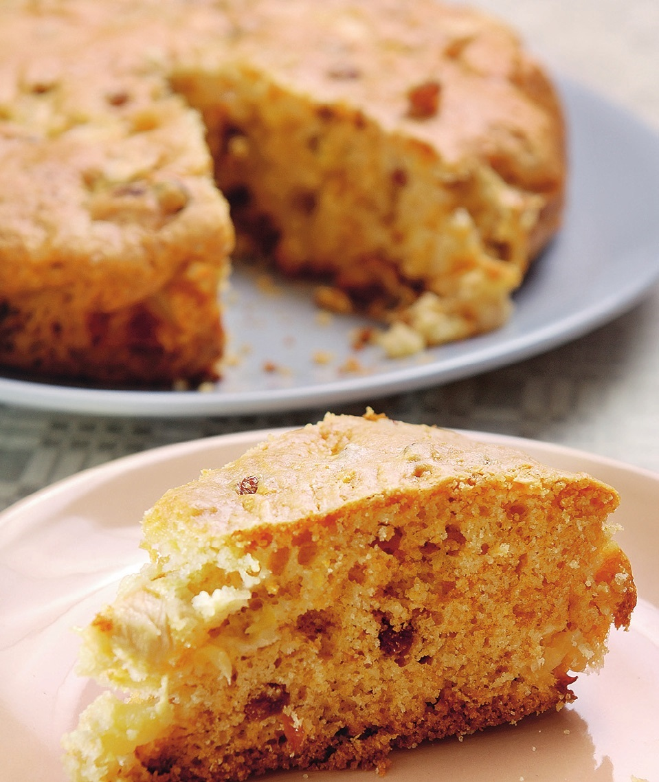 Пирог из манки рецепт с