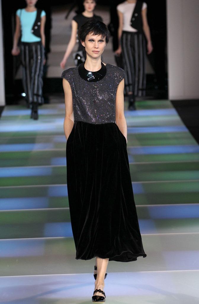 мода осень зима 2015 2016 как носить черное