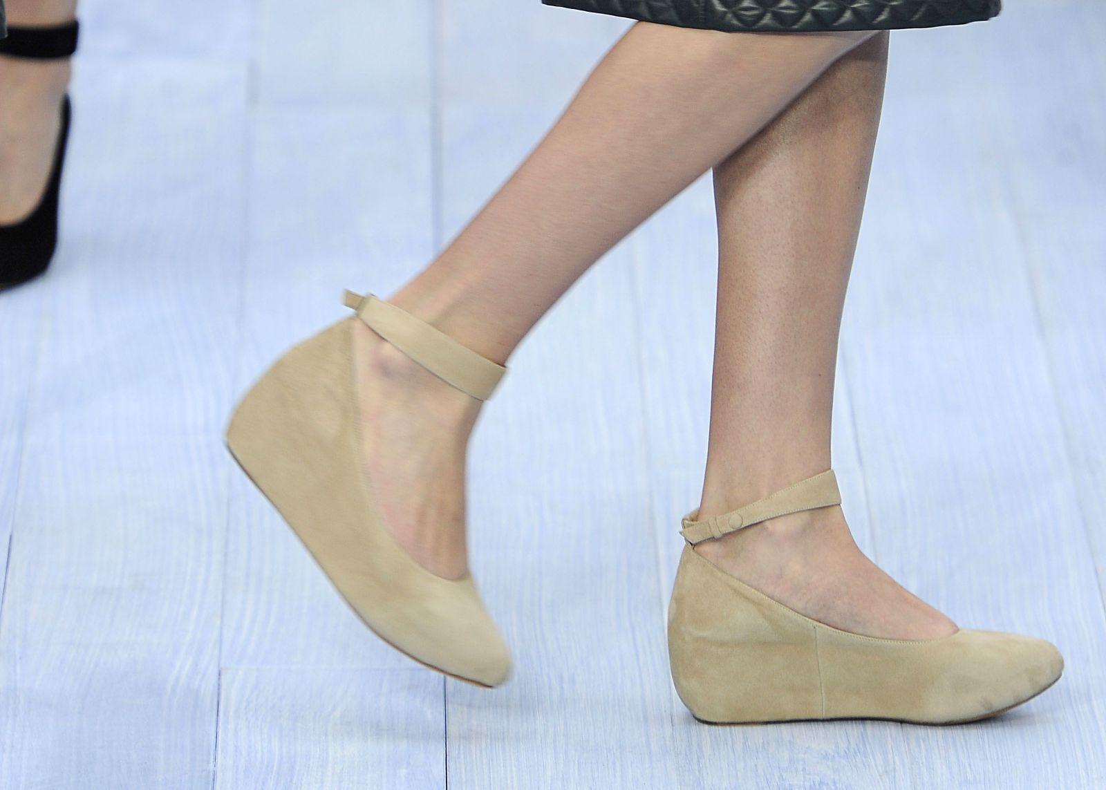 туфли в стиле 60-тых