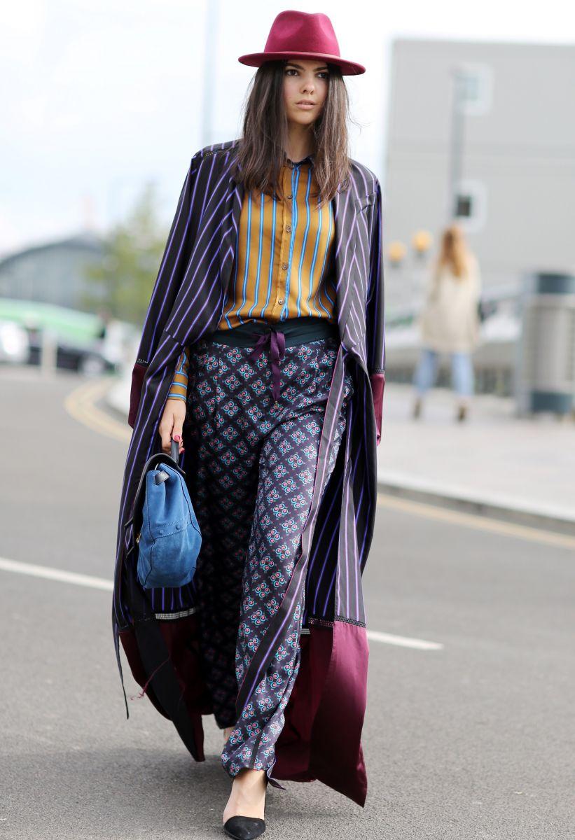 как носить пальто макси 2015