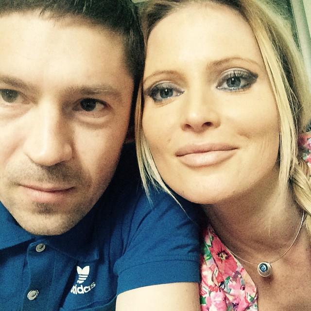 Дана Борисова с любимым мужчиной