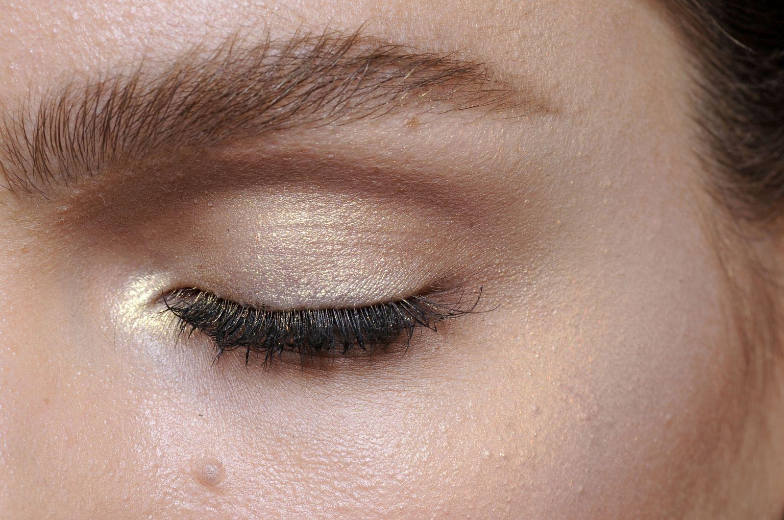 коричневый макияж