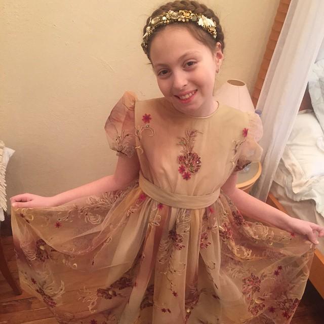 Дочка Оли Поляковой Маша