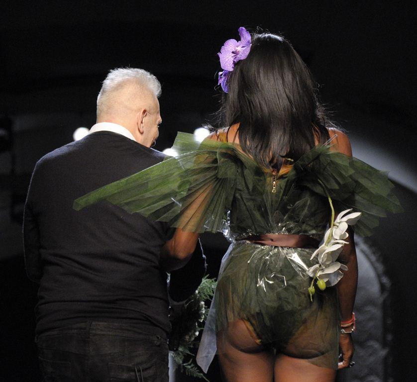 провокационные наряды на неделе моды в Париже 2015