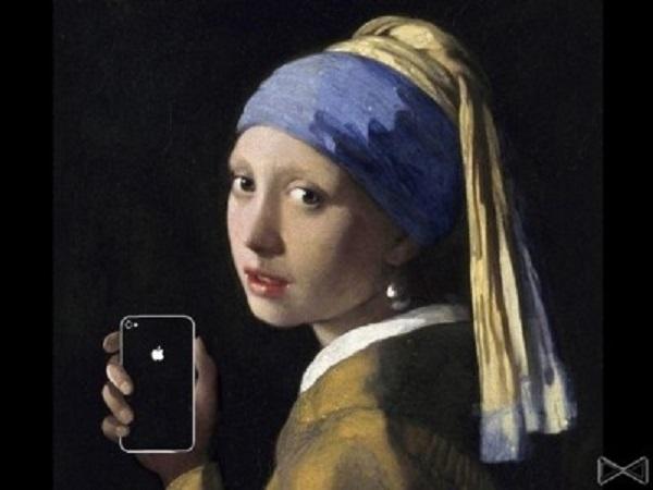 айфоны на картинах художников