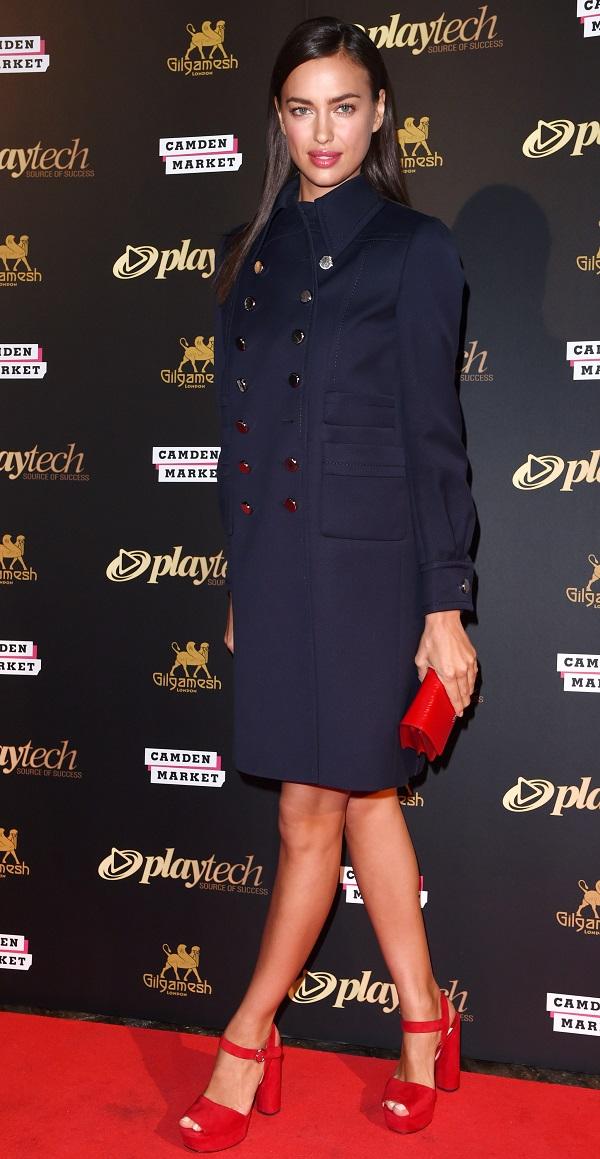 Ирина Шейк в Лондоне