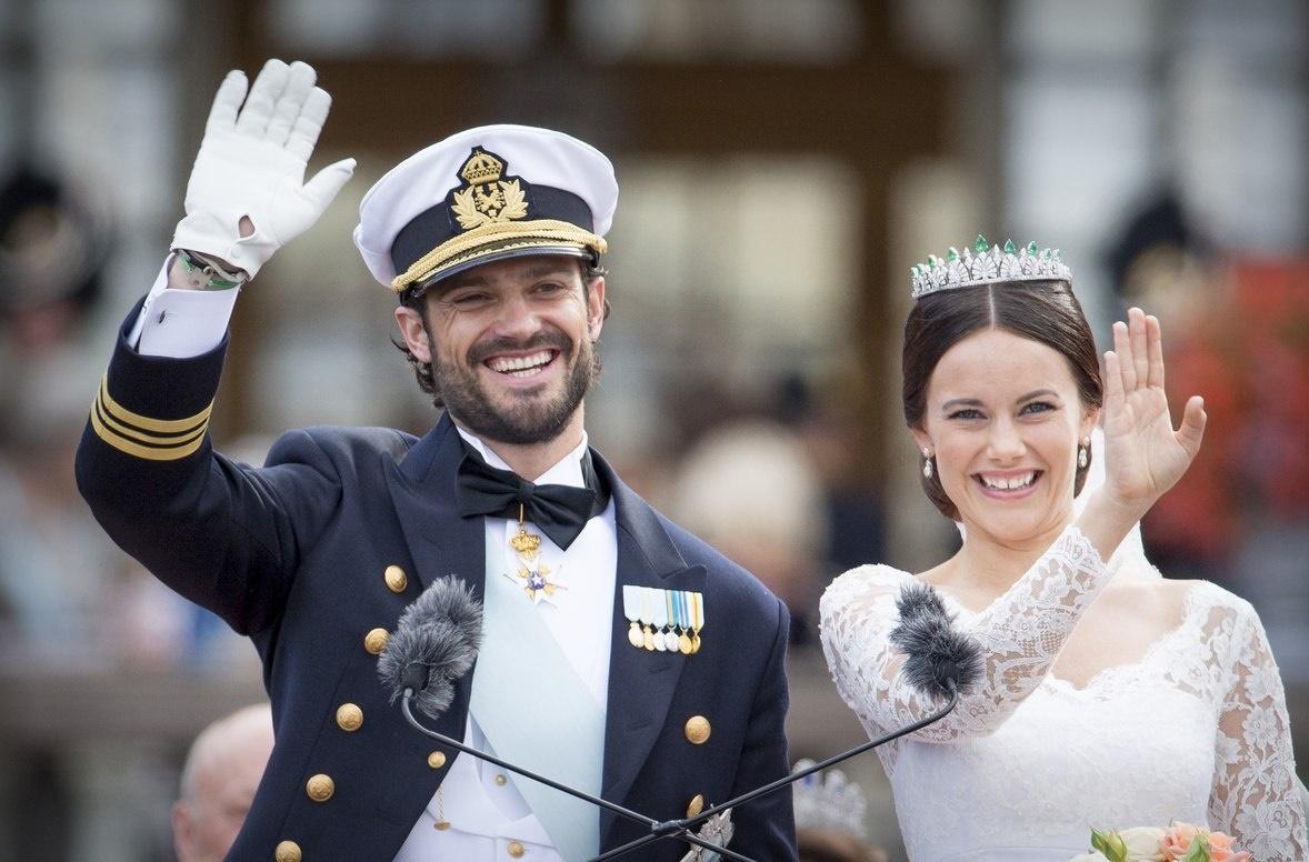 Принц Карл Филипп и принцесса София ждут первенца
