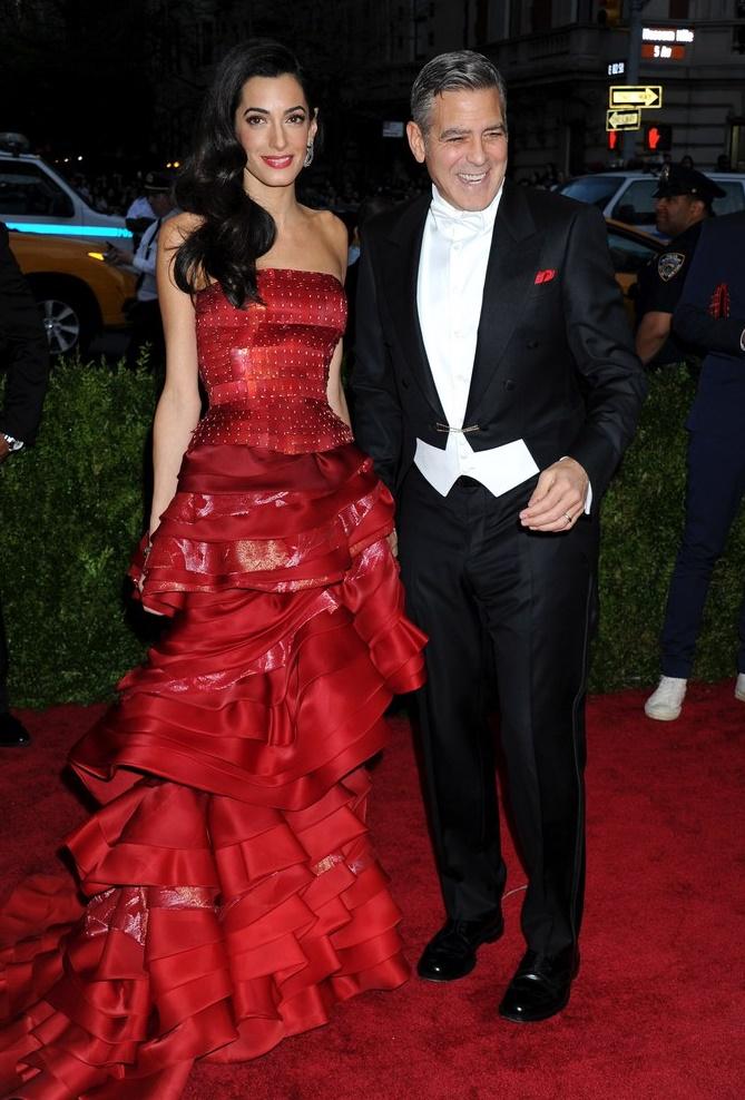 Джордж Клуни и Амаль Аламуддин признаны самой стильной парой 2015 года (фото)