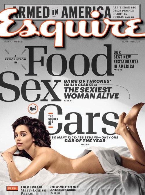 Эмилия Кларк завоевала титул самой сексуальной женщины в мире