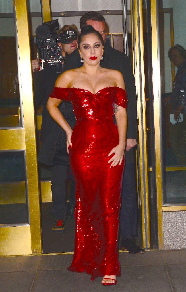 Беременная Леди Гага фото единственная