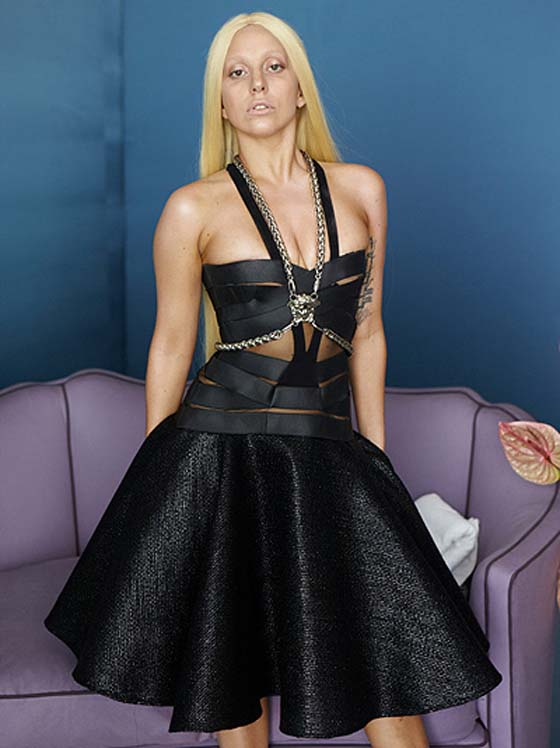Леди Гага фото без фотошопа до обработки
