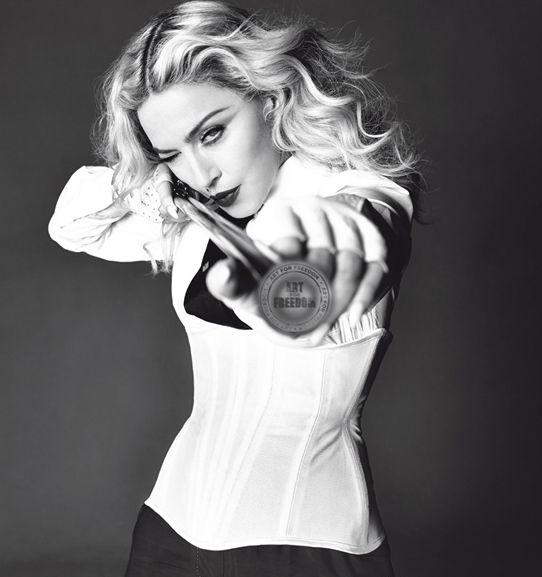 Мадонна фото фотосессия