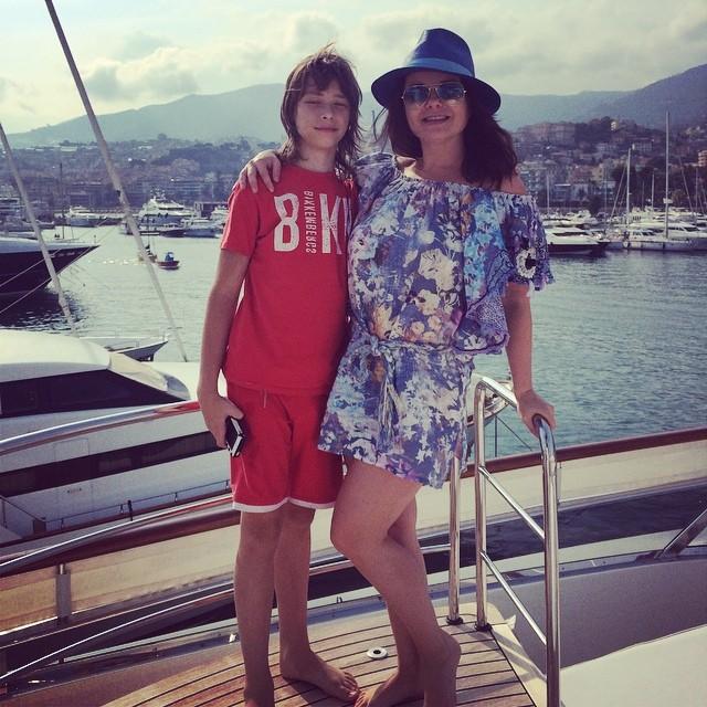 Наташа Королева фото с сыном