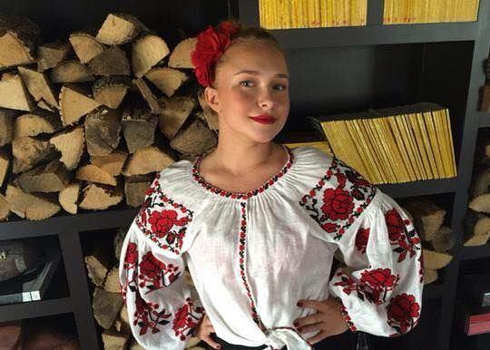 Образ невесты Кличко Хайден Панеттьери в День святого Валентина