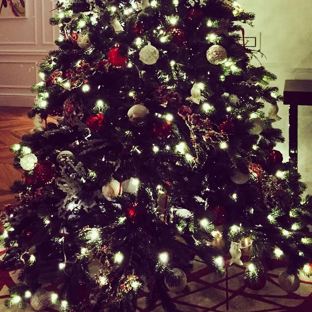 Новый год 2015 новогодняя елка Анна Семенович
