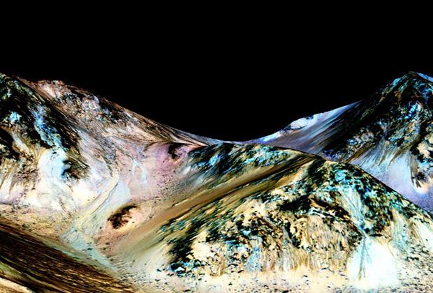 марс 2015 на марсе нашли воду