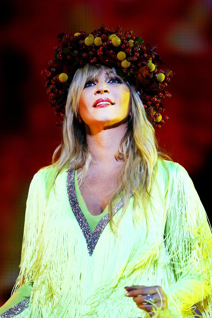 Платье Ирины Билык Звездная коллекция фото