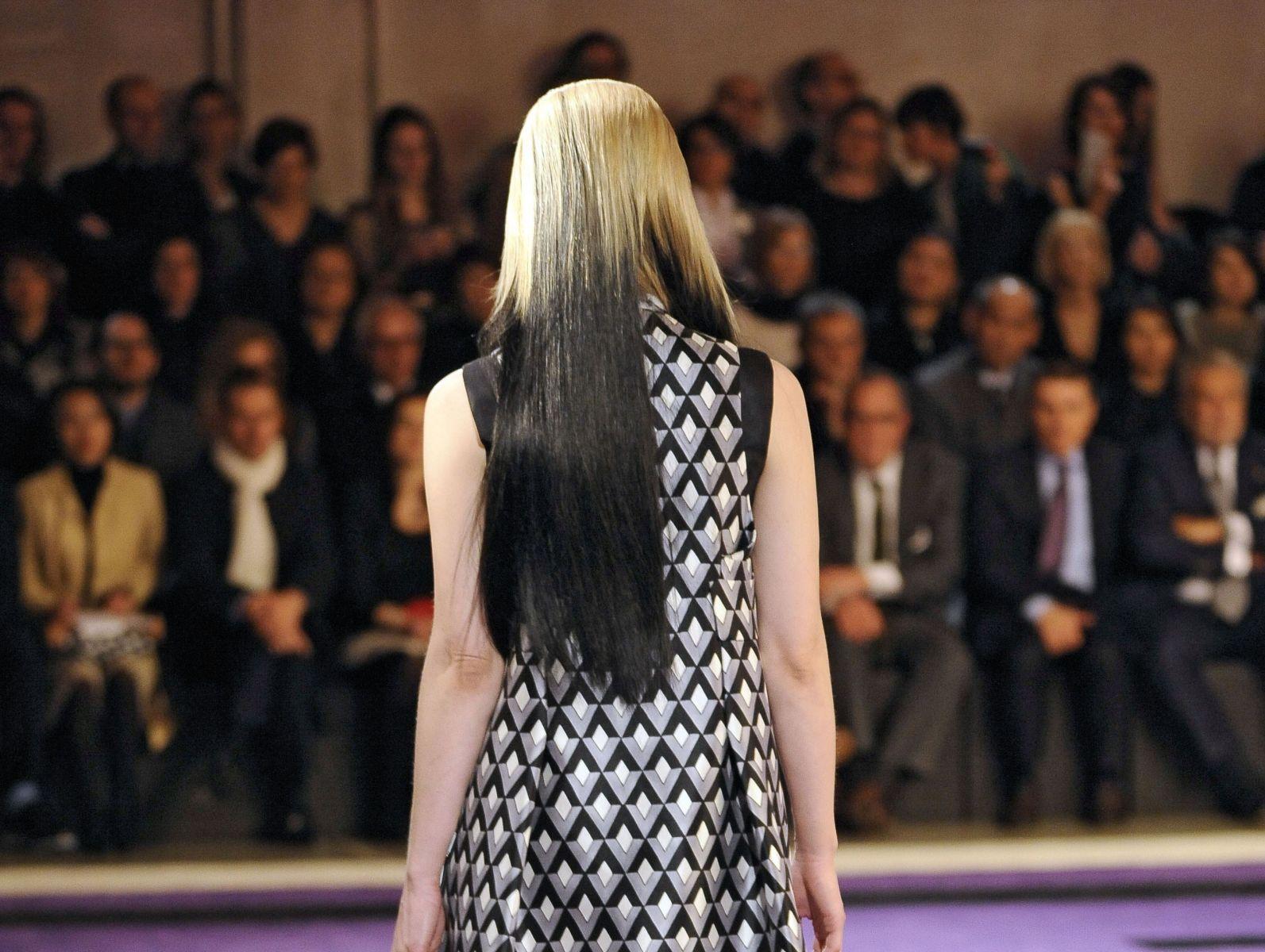 градация модный цвет волос