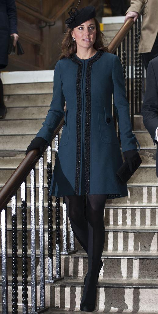 мода осень 2015 осеннее пальто Кейт Миддлтон