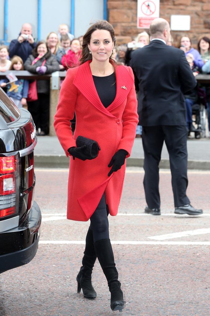 кейт миддлтон модные пальто осень 2015