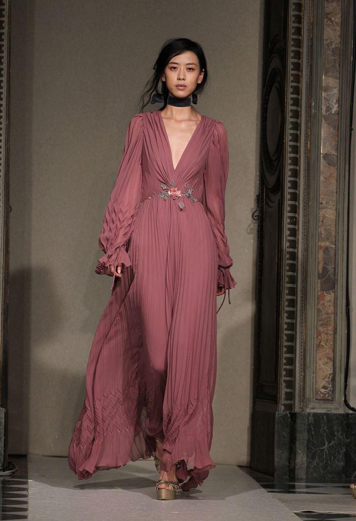 мода осень 2015 распродажи платье в пол