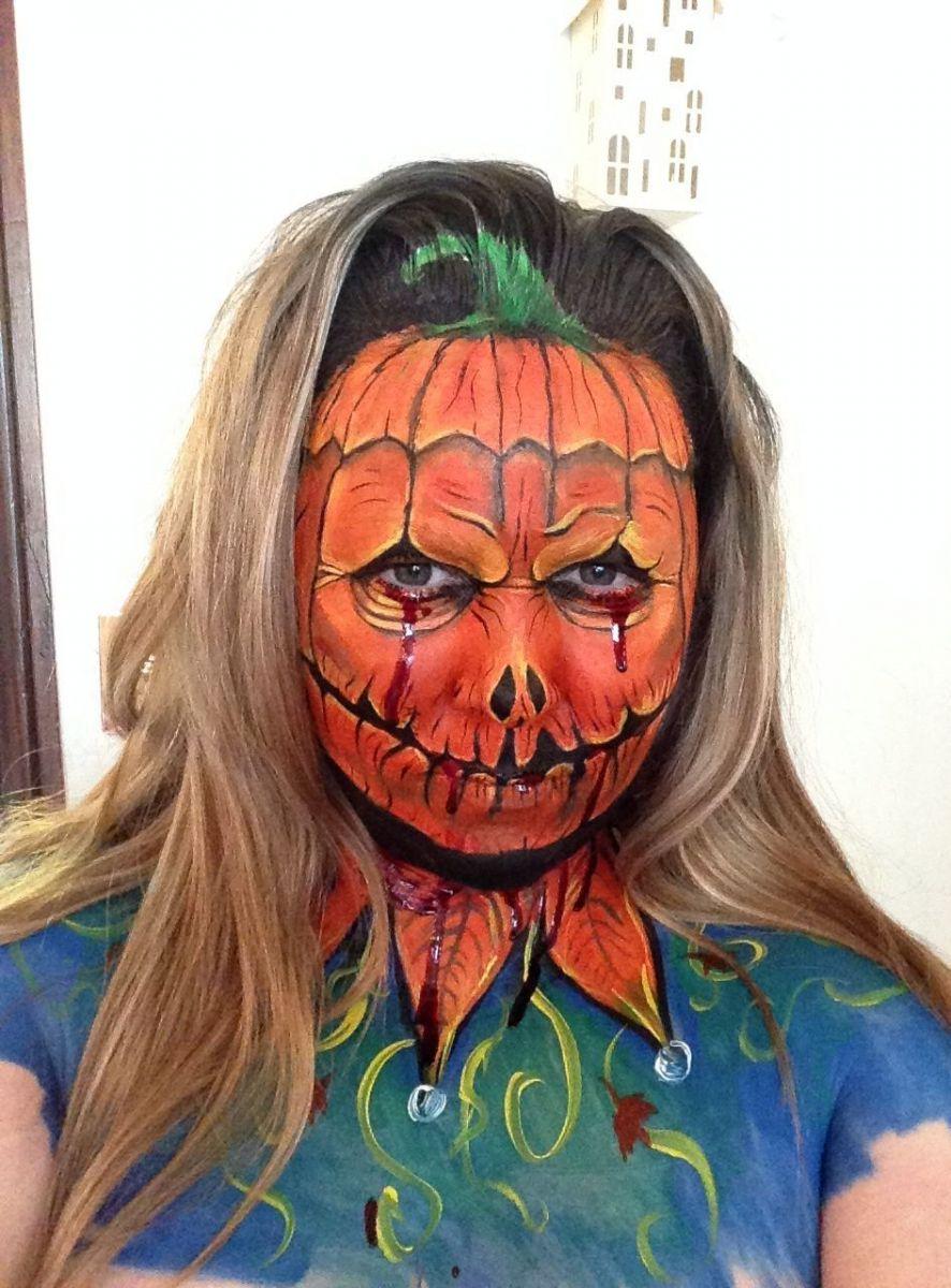 Как сделать макияж хэллоуин своими руками