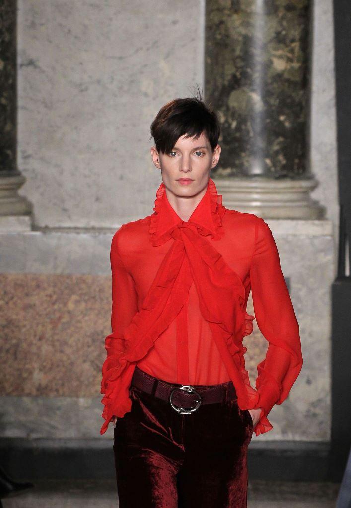 мода осень зима 2015 блузки фото что надеть 1 сентября