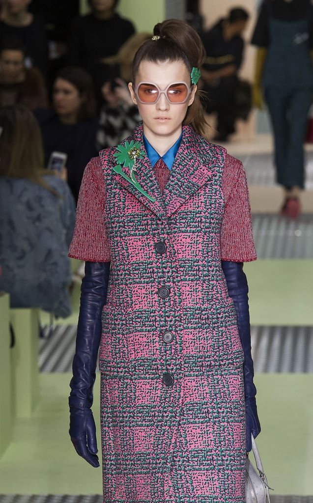 мода осень зтма 2015 2016 перчатки