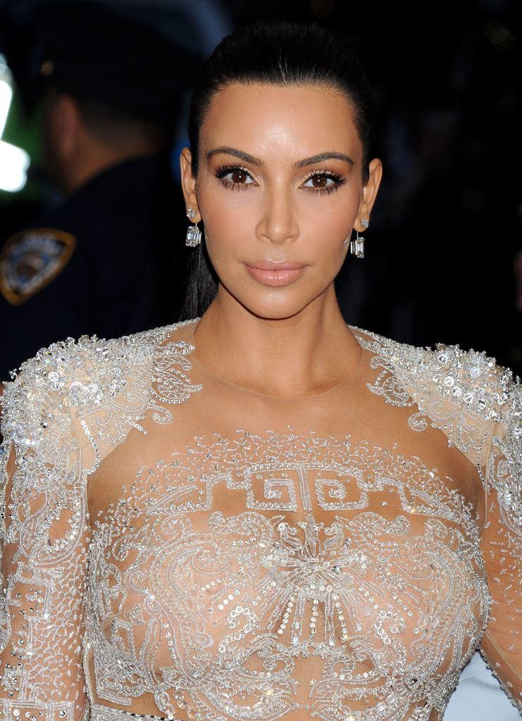 Ким Кардашьян на MET Gala2015