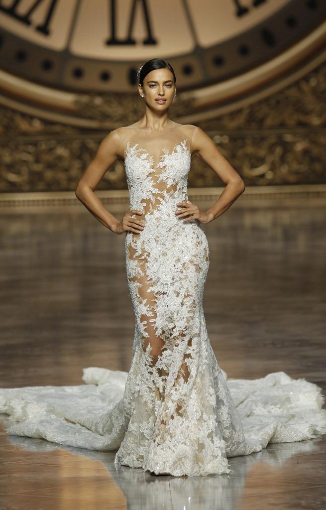 свадебные платья фото Ирина Шейк